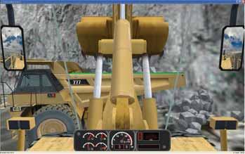 Home » Hydraulic Excavator Personal Simulator Simlog
