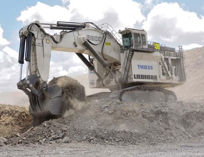 Liebherr 996 Mining Excavator Operator <strong>Bowen Basin</strong> Job - iMINCO